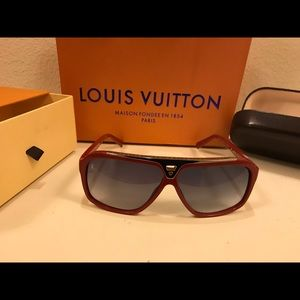 Pre- Owned Louis Vuitton Evidence Sunglasses